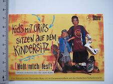 Pegatina Sticker verkehrswacht-sede más segura Kids-Mercedes Benz acción 6791