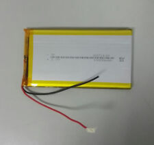 2 PCS 3.7V 10000mAH Safety Design LIPO Li-ion Polymer Rechargeable Battery