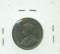 CAP Canada 5 cents 1926 Near 6 Fine