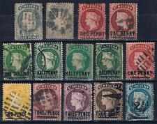St.Helena Used Lot 1889,1864-73,1884-94,1893 SC#6,7,11,12,31,33-38,47 CV195$
