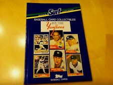 1987 Yankees,Brewers,or Braves Baseball Card Surf Book -Mantle,Aaron,Yount,etc.