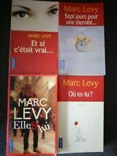 Lot 4 romans Marc LEVY