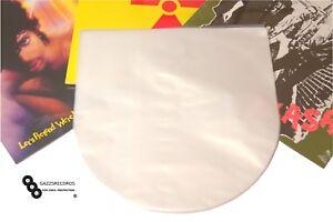 "50 12"" Inch Groovy's Vinyl Poly Inner Anti-Static Round Bottom Record Sleeves"