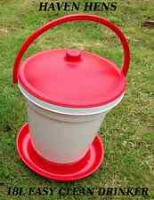 18LTR AUTOMATIC DRINKER POULTRY CHICKEN BANTAM 18 L LITRE WATER ACCESSORIES 18L