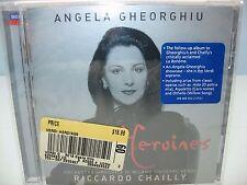 VERDI HEROINES, Angela Gheorghiu, Milan Verdi SO/Riccardo Chailly, Decca NEW