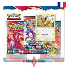 Pokémon - Tri Pack 3 boosters EB05 Épée et Bouclier Styles de Combat: Évoli