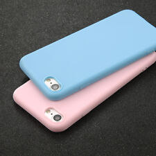 Ultra Thin Silicone Rubber Soft TPU Back Case Cover For iPhone 8 7 6 Plus 5 SE X