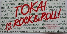 Aufkleber TOKAI GUITARS Rock & Roll Gitarren Bass 80er Sticker Autocollant #3