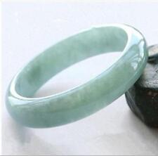 Grade A Beautiful Fine Light Green Jade Jadeite Bangle Bracelet Fashion Gems