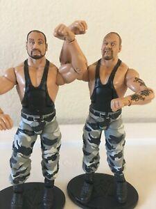 WWE Mattel The Bushwackers Elite Legends Series Figures