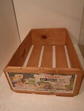 Fiesta Ruby Seedless Grapes Wooden Shipping Crate Box Crate Storage Decor Fruit