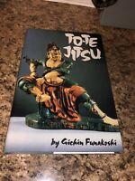 """TO-TE JITSU by GICHIN FUNAKOSHI LIMITED EDITION SIGNED """"KARATE"""" FIRST PRINT 1994"""