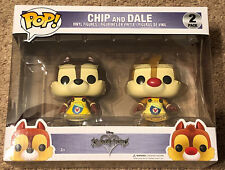 Funko Pop Disney Kingdom Hearts CHIP and DALE Retired.  Never Opened.