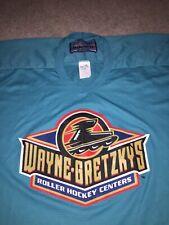 Wayne Gretzky's Roller Hockey Centers Men's Jersey XL Authentic Bauer
