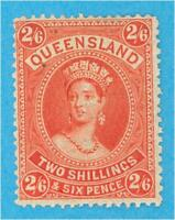 QUEENSLAND 75 MINT HINGED OG * NO FAULTS VERY FINE !