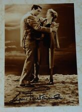 Joan Fontaine auto photo signed Alfred Hitchcock