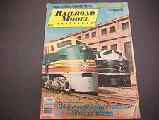 Railroad Model Craftsman Magazine,March 1976,Rustic Track Tips,D&Rgw Cars