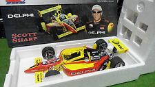 F1 INDY CAR SCOTT SHARP DELPHI DALLARA #8 Jaune au 1/18 ACTION voiture miniature