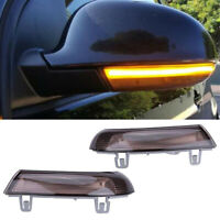 Dynamic Mirror Indicator Turn Signal LED Light For VW Passat B6 Jetta Golf MK5