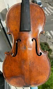 Old French Violin - D. Nicolas Aine - excellent condition