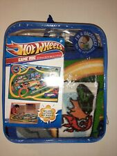 Hot Wheels Cars Trucks Mat Toy Game Rug Road Signs Backpack New/Other
