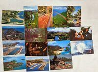 Lot of 16 VTG Postcards Hawaii Hawaiian Coco Palms Resort Quilting Waikki RPPC