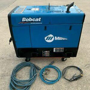 Miller Bobcat 250 Kohler Gas Engine Welder Generator w Leads 907500001