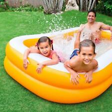 Intex Inflatable Mandarin Family Centre Swimming Pool AH57181