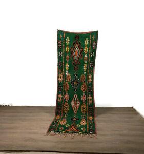 Authentic Rug Vintage Handmade Runner Cotton Hallway Area Carpet Home Decor 8X2'