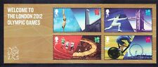 GB 2012 SGMS3341 Olympic Games - mini-sheet - unmounted mint. Catalogue £5.50