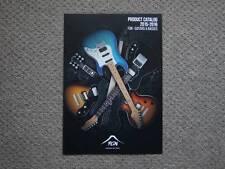 FUJIGEN 2015-2016 inspection Les Paul strato Fender Gibson Ibanez catalog