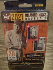 2021 Diamond Kings Baseball Hanger 20 Cards Per Box