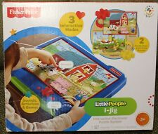 Fisher Price Little People I-Jig Interactive Electronic Jigsaw Puzzle System