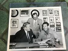Ted Williams Red Sox 7 X 9 Photograph SIGNING WITH BOSTON RED SOX AP PHOTO