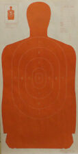 "B-27 [B27] Silhouette Targets in Warm Red [23"" x 45""] (100 targets)"