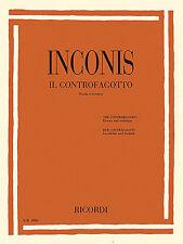 The Contrabassoon Il Controfagotto History and Technique Storia e tecn 050499520
