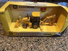 Ertl 1:50 Scale JOHN DEERE BACKHOE LOADER #37013 New in Box