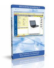 GS Inventarverwaltung 3 - Software zur Verwaltung von Inventar