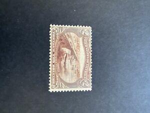 US 1898 Scott 293 $2, MH Stamp