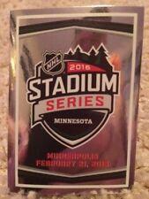 #437 LOGO FOIL STADIUM SERIES Feb 21 SP 2016-17 Panini 16-17 NHL Hockey Sticker