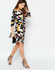 SELECTED Women's Dimer Abstract Print Dress - BNWT UK SIze 12 RRP £85
