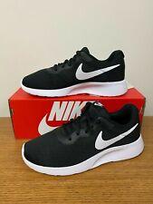 Nike Women's Tanjun (2E) WIDE Shoes Black White AQ3553-001 NEW