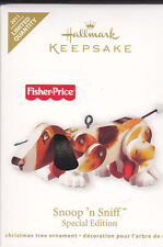 Fisher Price * Snoop 'n Sniff * Puppy Dog Hallmark Limited Special ORNAMENT 2011
