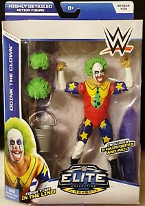 WWE Doink The Clown Flashback Elite Series 34 First Time In The Line Figure