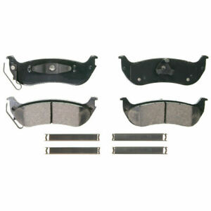Disc Brake Pad-QuickStop Rear WAGNER ZD998 fits 04-08 Chrysler Pacifica