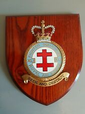 More details for raf squadrons 41 xli fighter squadron royal air force large wooden wall plaque