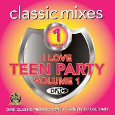 DMC Classic Mixes - I Love Teen Party Vol 1 Little Mix 1D Megamix Music DJ CD