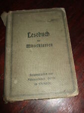 Lesebuch f.d.Mittelklassen d.Volksschulen,3.+4.Klasse,1906,Chemnitz,Bild.s.Text