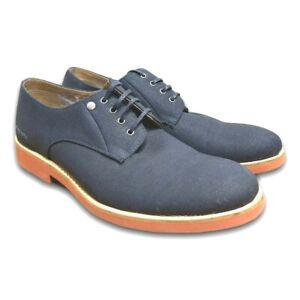 G Star Raw Mens Eton Derby Shoes Navy Size 9 US 8 AU