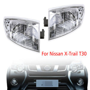 Pair Front Left Right Corner Turn light lamp For Nissan X-TRAIL XTRAIL T30 00-06